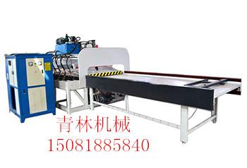 青林45度全自动切角机高频拼板机工作原理以及日常使用时注意事项